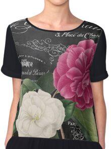 Fleur du Jour Camellia Chiffon Top