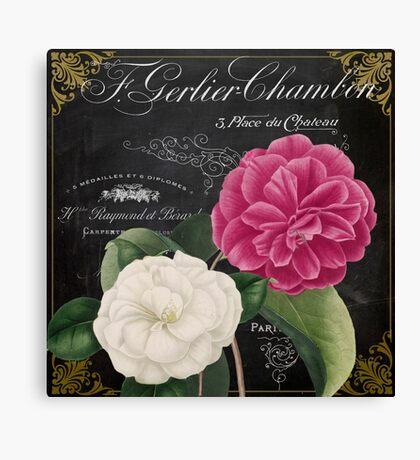 Fleur du Jour Camellia Canvas Print