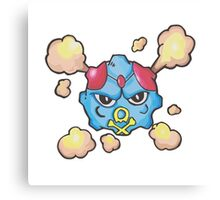 Tentafing - Pokemon Fusion Canvas Print