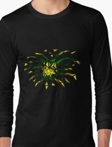 Low Poly Firework Long Sleeve T-Shirt