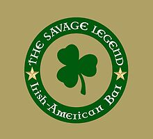 Shamrock Halo Logo by SavageLegendBar