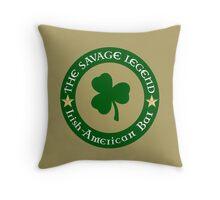 Shamrock Halo Logo Throw Pillow