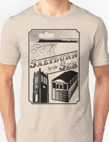 Saltburn-by-the-Sea stamp Unisex T-Shirt