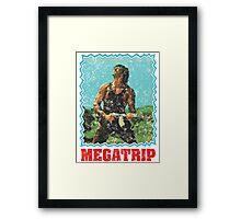 MEGA-BO Framed Print