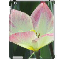 Pink and yellow tulip iPad Case/Skin