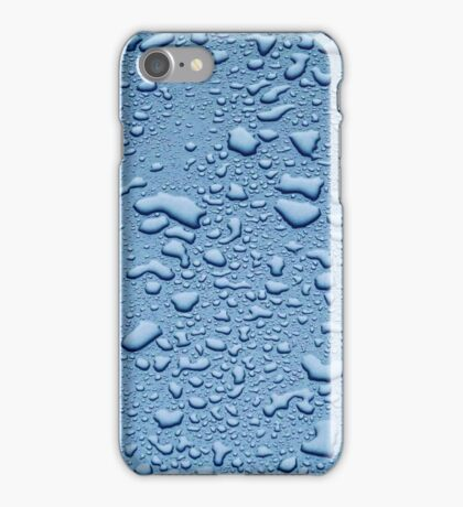 Water on wax iPhone Case/Skin