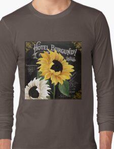 Fleur du Jour Sunflowers Long Sleeve T-Shirt