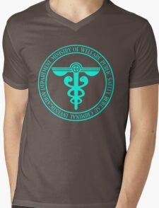 Psycho Pass Symbol Mens V-Neck T-Shirt