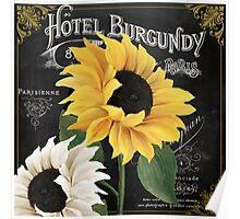 Fleur du Jour Sunflowers Poster