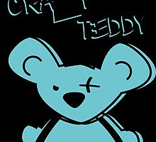 crazy teddy bear - teddy bär by littleicebear22