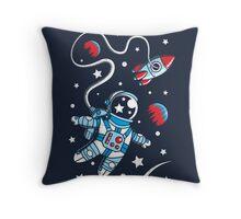 Space Walk Throw Pillow