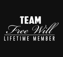 Team free will - lifetime member One Piece - Short Sleeve