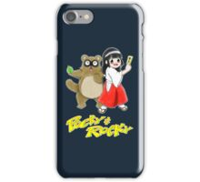 Pocky and Rocky (Super Nintendo Version) iPhone Case/Skin