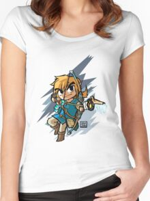 Link breath of the wild Women's Fitted Scoop T-Shirt