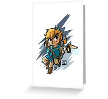 Link breath of the wild Greeting Card