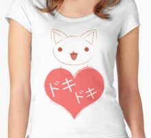 Doki Doki Kitten Women's Fitted Scoop T-Shirt