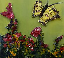 Mini-Butterfly 2 (Mixed media) by Niki Hilsabeck
