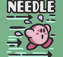 Kirby Needle by likelikes