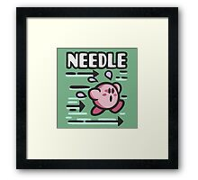 Kirby Needle Framed Print