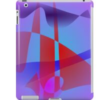 Light Purple and Red iPad Case/Skin