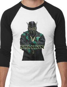 Super Dragon Men's Baseball ¾ T-Shirt