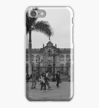 Plaza Mayor de Lima iPhone Case/Skin