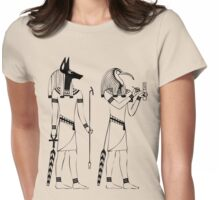 Egyptian Gods Womens Fitted T-Shirt