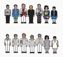 Arcade Fire Pixelated by Alexandra Kelly
