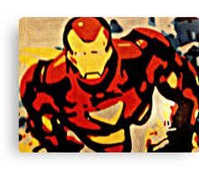 Iron Man in Flight Canvas Print