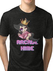 Arcade Hime Tri-blend T-Shirt
