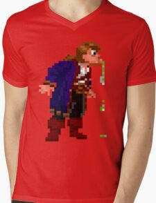 Failed Spit Mens V-Neck T-Shirt