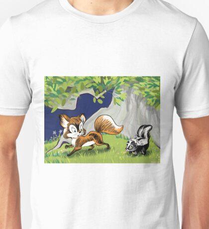 Spunky Little Skunk Unisex T-Shirt