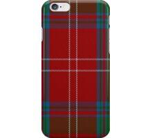 01985 The Chisholm (MacGregor-Hastie) Clan/Family Tartan iPhone Case/Skin