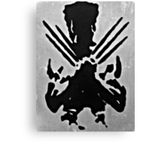 Wolverine Silhouette  Canvas Print