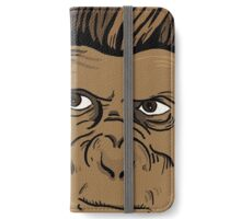 CARTOON MONKEY iPhone Wallet/Case/Skin