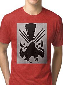 Wolverine Silhouette  Tri-blend T-Shirt