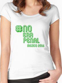 #NoEraPenal - No era penal Women's Fitted Scoop T-Shirt