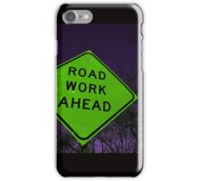 Apocalyptic Traffic Sign iPhone Case/Skin