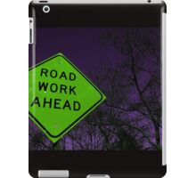 Apocalyptic Traffic Sign iPad Case/Skin