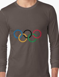 The olympic rings Long Sleeve T-Shirt