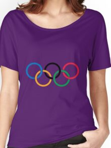The olympic rings Women's Relaxed Fit T-Shirt