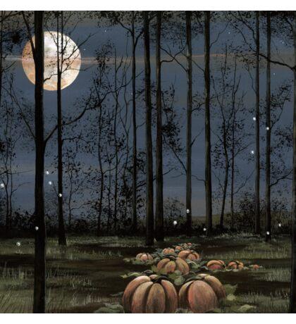 Pumpkin Moon Sticker