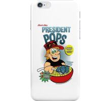 President Pops (Pete and Pete parody) iPhone Case/Skin