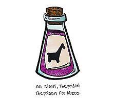 The Poison for Kuzco Photographic Print