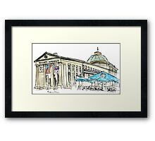 Faneuil Hall Framed Print