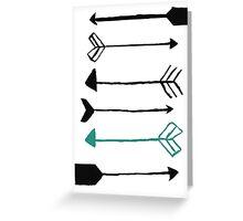 Arrows Greeting Card