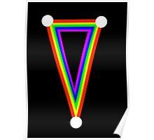 Rainbow dagger  Poster