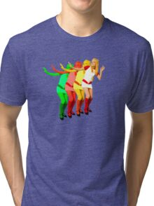 France Gall colorful amazing design! Tri-blend T-Shirt