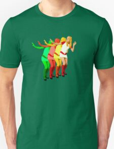 France Gall colorful amazing design! Unisex T-Shirt