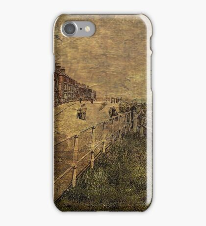 A Stroll Along the Seafront iPhone Case/Skin